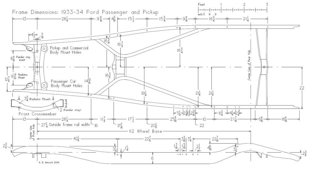 1932 Chevy Frame Diagram - Product Wiring Diagrams •