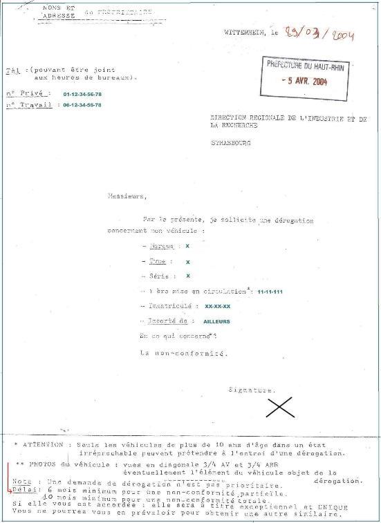 Check list - Comment faire Homologation du Humvee M998 ? d'un Hummer ? SMALL-11-DREAL%20DEMANDE%20DEROGATION